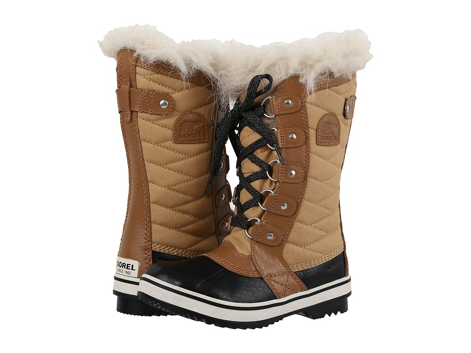 SOREL Kids Tofino II (Little Kid/Big Kid) (Curry/Elk) Girls Shoes