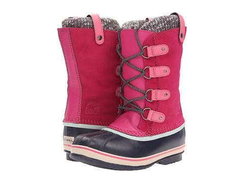 SOREL Kids Joan of Arctic Knit (Little Kid/Big Kid) - Haute Pink