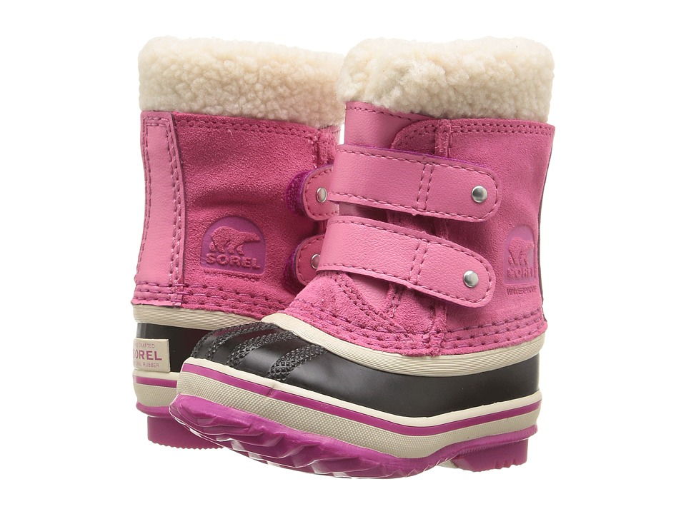 SOREL Kids 1964 Pac Strap (Toddler) (Tropic Pink) Girls Shoes