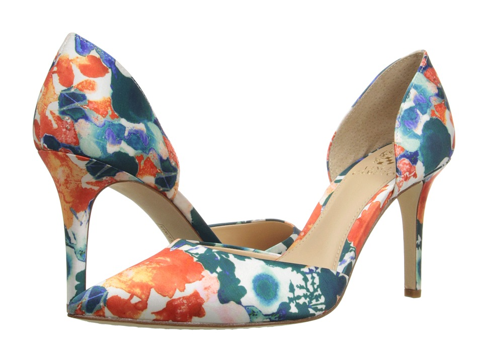Vince Camuto Baletts Turquoise Multi Womens Shoes