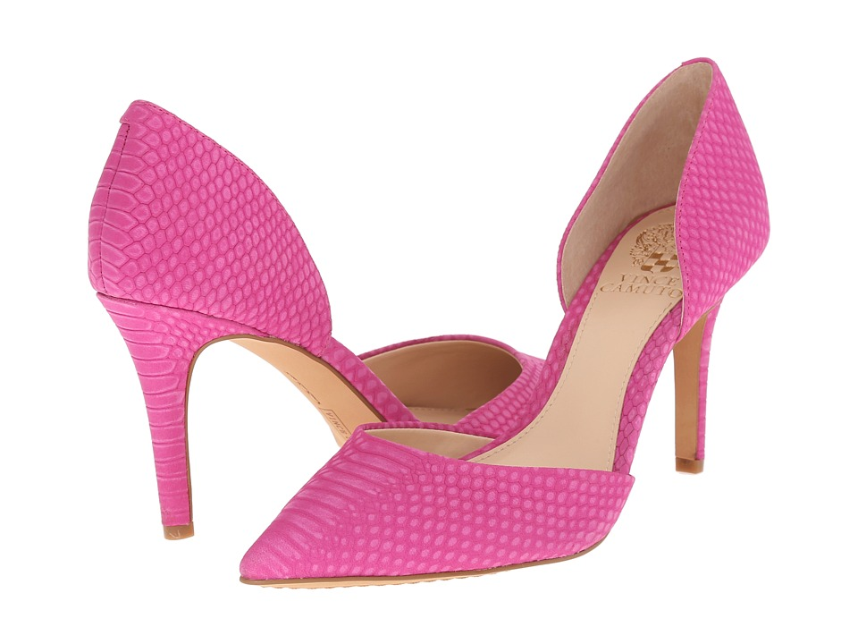 Vince Camuto Baletts Pink Orchid Womens Shoes