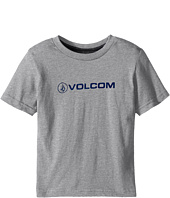 Volcom Kids - Euro Pencil Short Sleeve Shirt (Toddler/Little Kids)