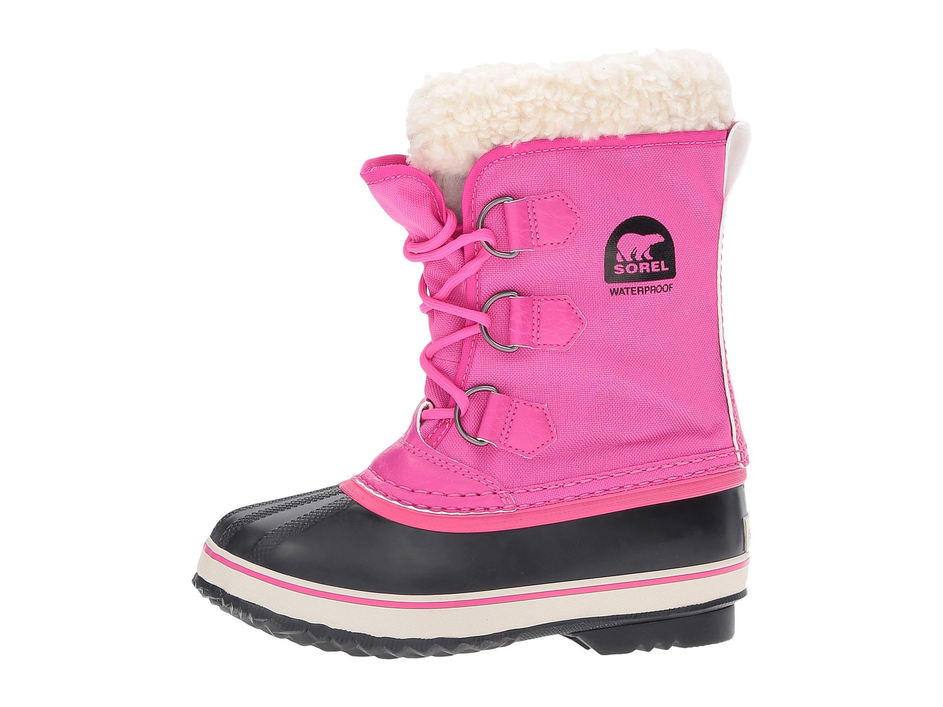 sorel yoot pac snow boots purple mount mercy