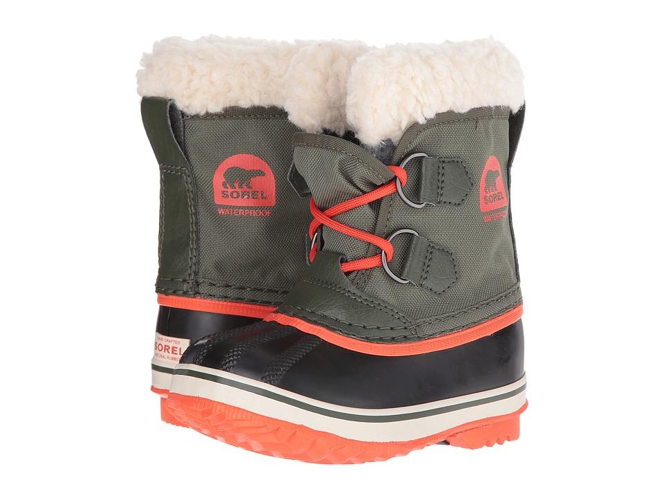 SOREL Kids - Yoot Pactm Nylon (Toddler/Little Kid) (Surplus Green) Kids Shoes