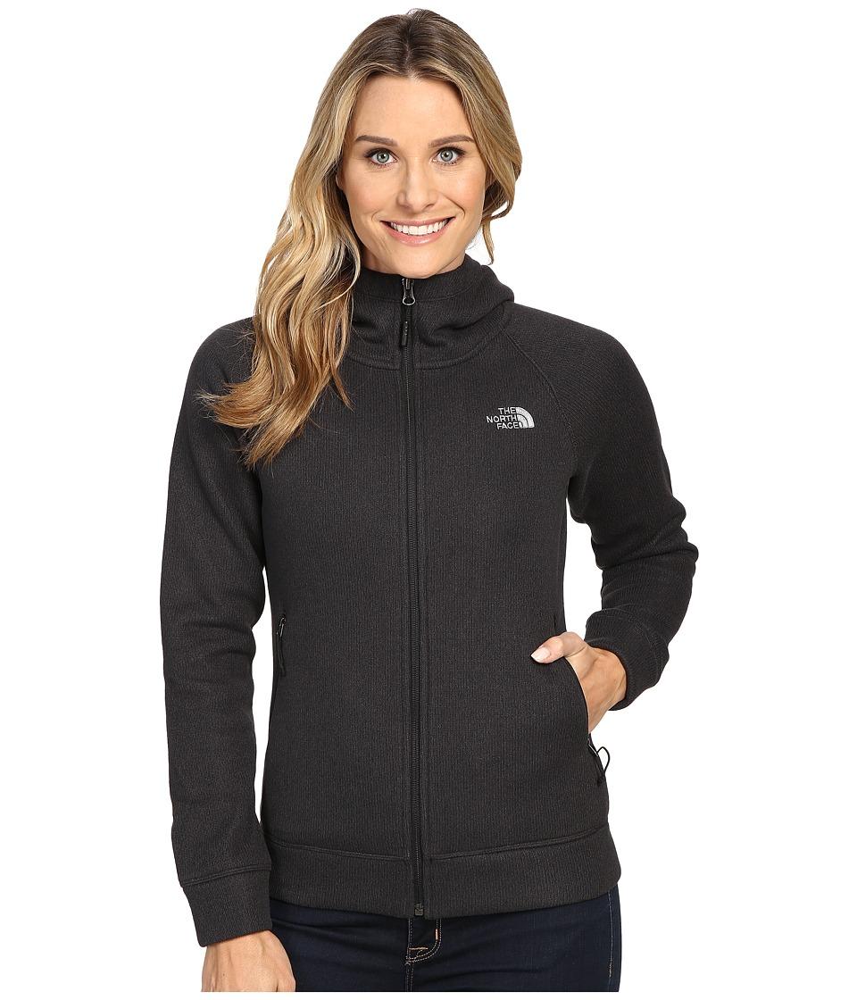 The North Face - Crescent Raschel Hoodie (TNF Black Heather (Prior Season)) Womens Sweatshirt