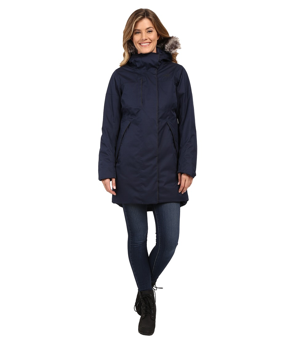 The North Face Crestmont Parka (Urban Navy Slub) Women