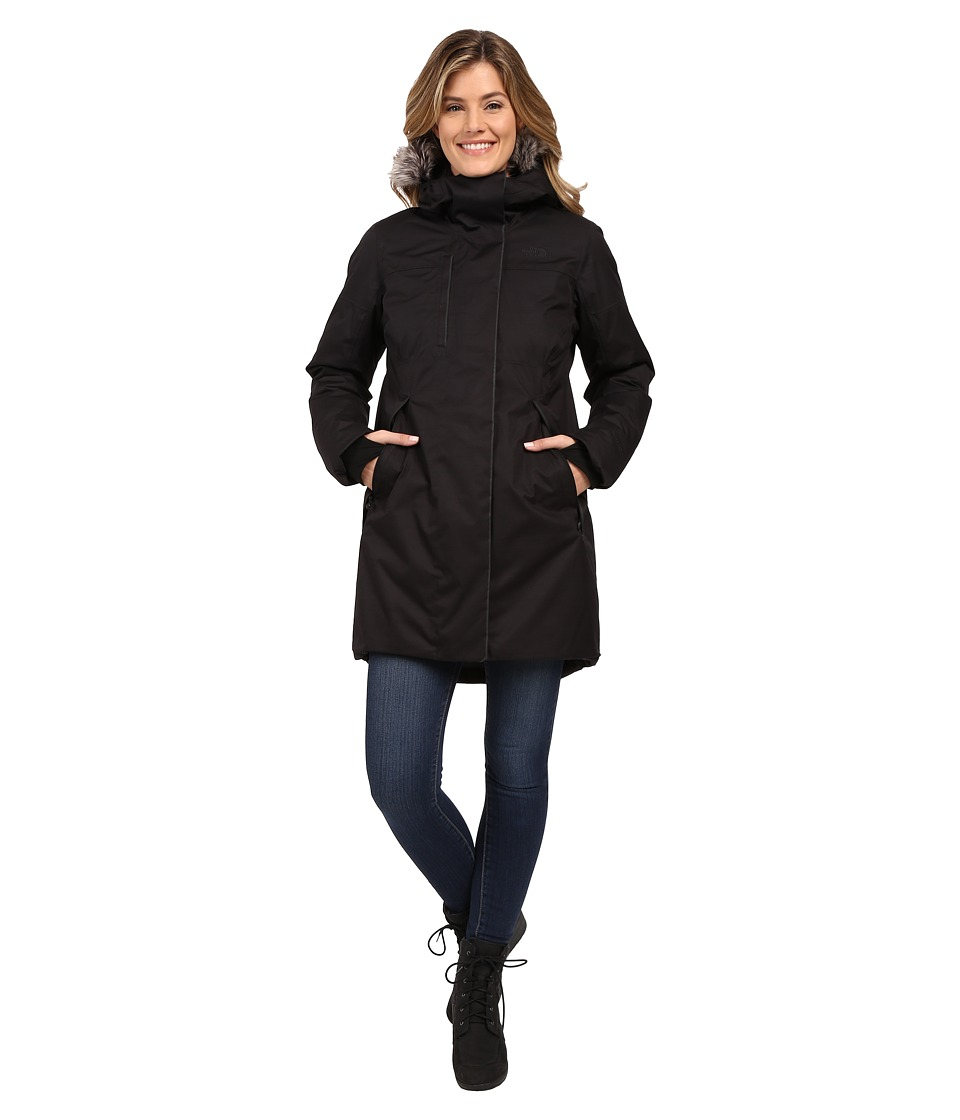 The North Face Crestmont Parka (TNF Black Slub) Women