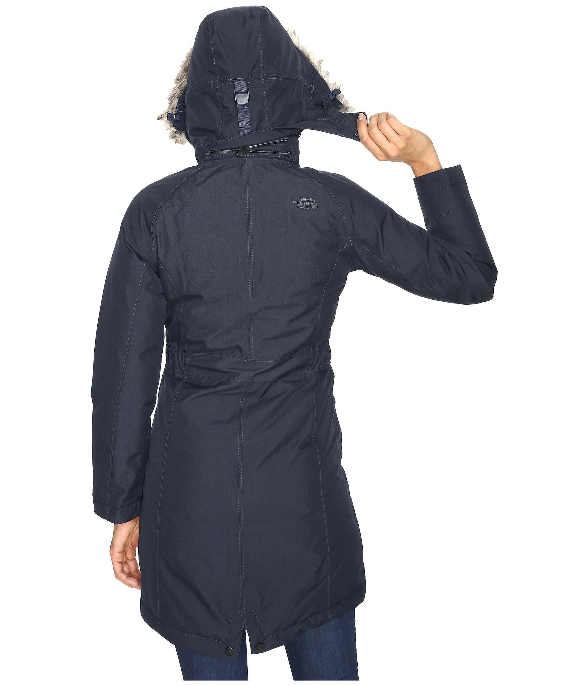 the north face arctic parka urban navy heather zappos. Black Bedroom Furniture Sets. Home Design Ideas