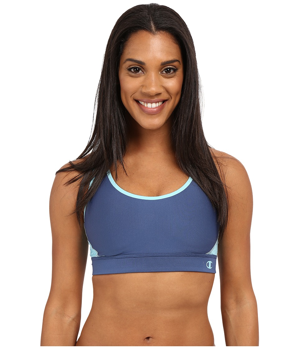 Champion The Great Divide Seabottom Blue/Amazing Aqua Womens Bra