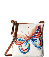 Brighton - Flutter Embroidered Pouch