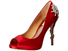 Badgley Mischka - Royal (Red Satin)