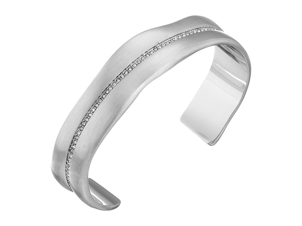 Karen Kane Tone Morning Light Cuff Bracelet Silver Bracelet