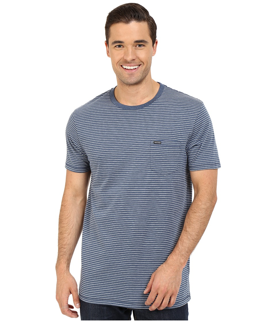 Volcom - Ledger Crew (Smokey Blue) Men