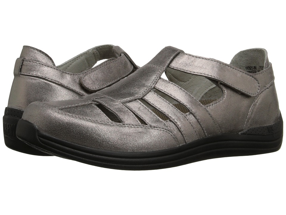 Drew Ginger (Dusty Pewter Leather) Women