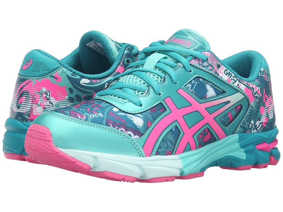 ASICS Kids - Gel-Noosa Tri 11 GS (Little Kid/Big Kid) (Ocean Depth/Pink Glow/Lapis) Girls Shoes