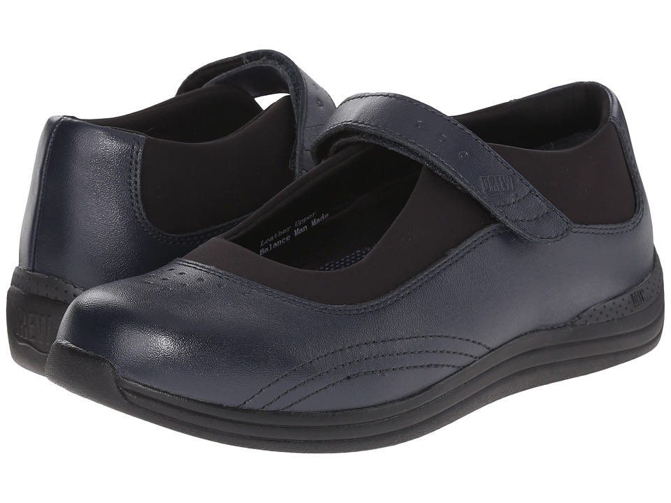 Drew Rose (Navy Smooth Leather) Women's Shoes