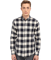 Naked & Famous - Regular Herringbone Ombre Check Shirt