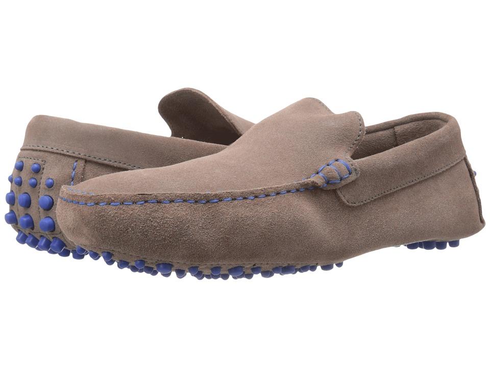 Dune London Bermuda Grey Suede Mens Slip on Shoes