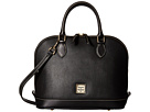 Dooney & Bourke Pebble Leather New Colors Zip Zip Satchel