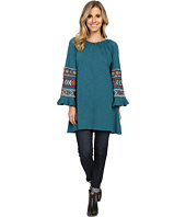 Scully - Caily Embroidered Bell Sleeve Tunic