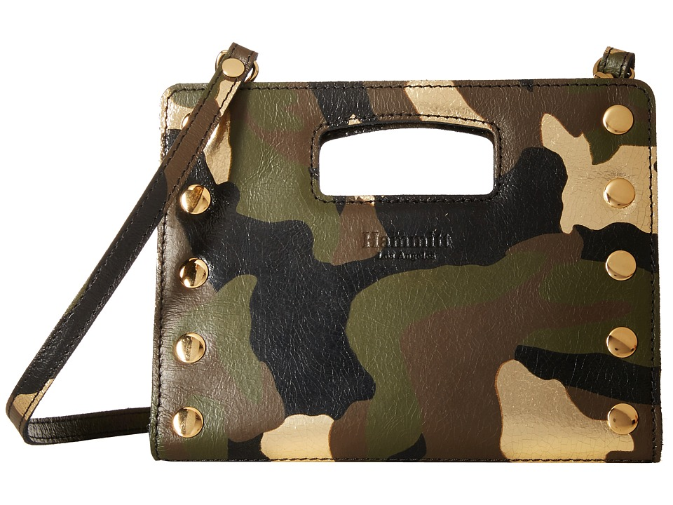 Hammitt 101 North Militare/Gold Handbags