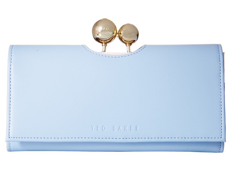 Ted Baker Harrien Powder Blue Wallet Handbags