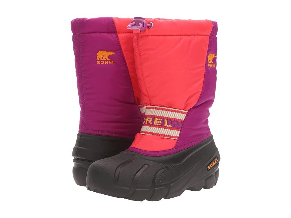 SOREL Kids Cub (Toddler/Little Kid/Big Kid) (Afterglow/Bright Plum) Girls Shoes