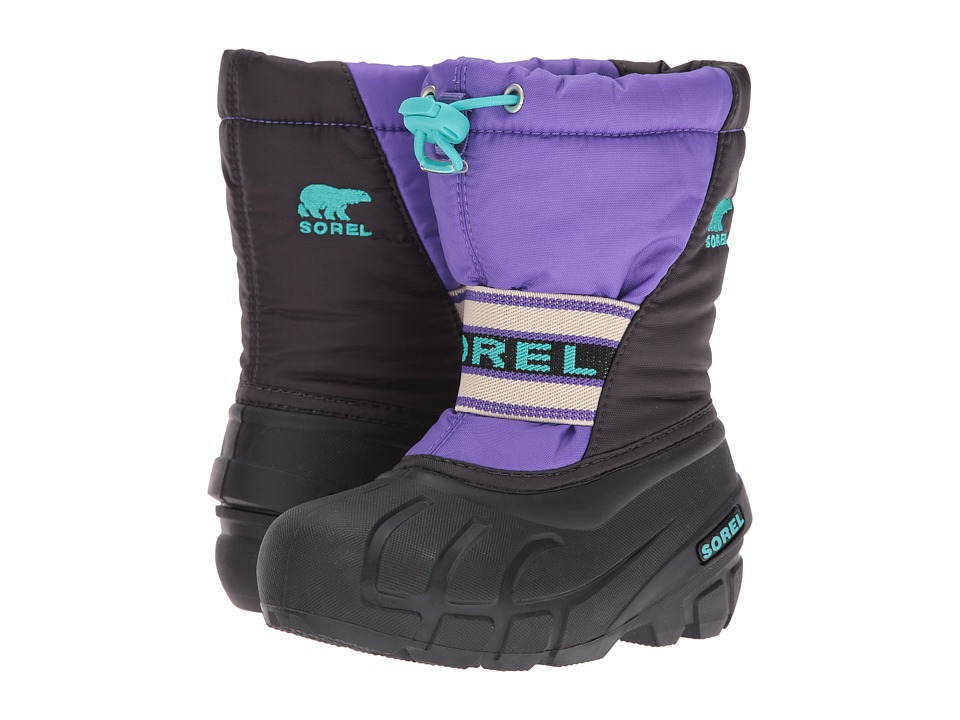 SOREL Kids Cub (Toddler/Little Kid/Big Kid) (Purple Arrow/Shark) Girls Shoes