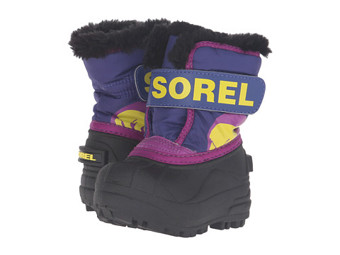SOREL Kids Snow Commander (Toddler) - Grape Juice/Bright Plum
