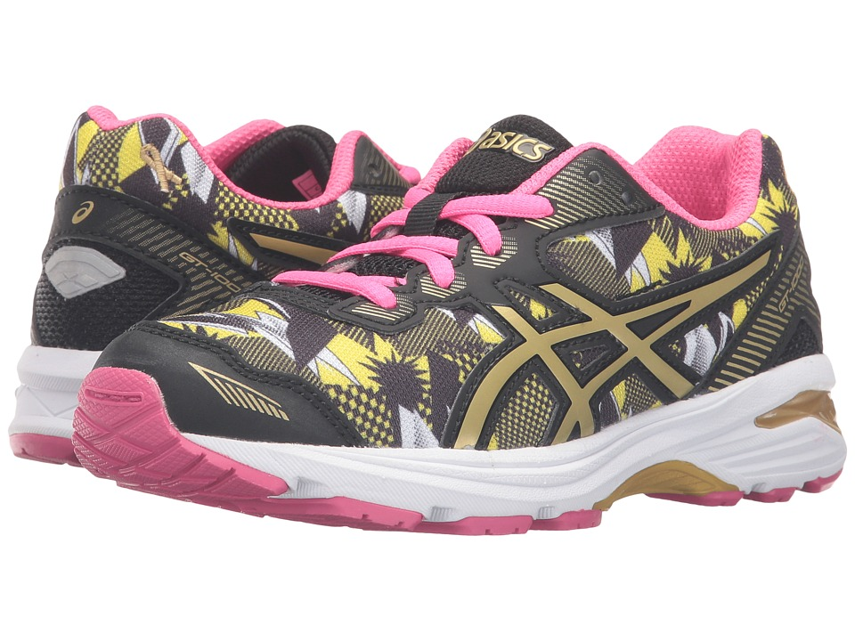 ASICS Kids - GT-1000 5 GS GR (Little Kid/Big Kid) (White/Gold/Gold Ribbon) Girls Shoes