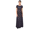 Donna Morgan Alice Cap Sleeve Dress (Indigo)