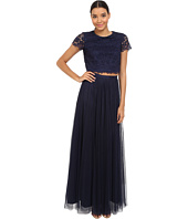Donna Morgan - Amelia Cap Sleeve Top w/ Tulle Skirt