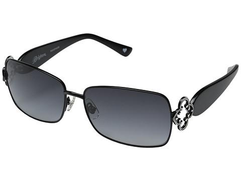 Brighton Toledo Lux Sunglasses - Black/Silver