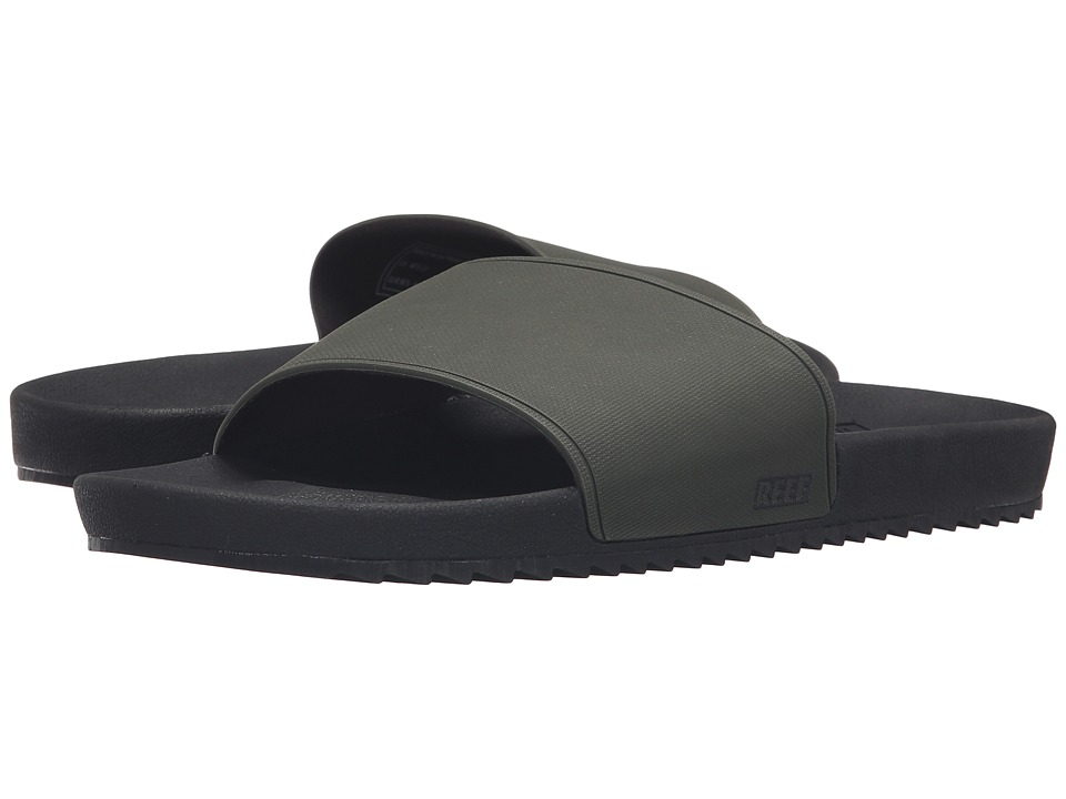 Reef - Slidely (Black/Olive) Men
