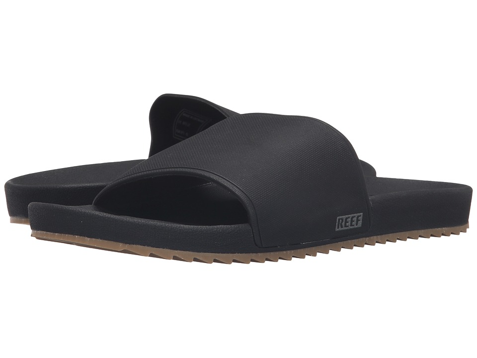 Reef - Slidely (Black) Men's Sandals