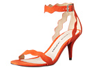 Chinese Laundry - Rubie Scalloped Sandal (Sweet Orange Micro Suede)
