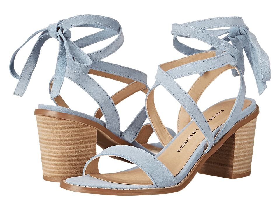 Chinese Laundry Calvary (Powder Blue Split Suede) High Heels