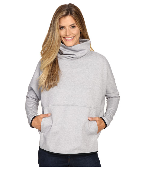 The North Face - Slacker Poncho (TNF Light Grey Heather) Women's Sweatshirt