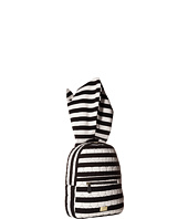 Luv Betsey - Jersey Stripe Hoodie Backpack w/ Cat Ears