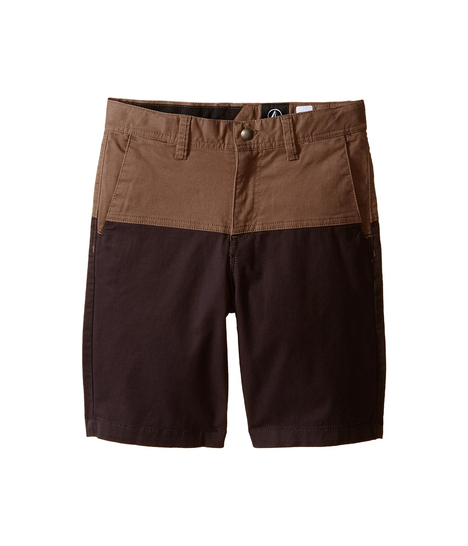 Volcom Kids Baden Shorts Toddler/Little Kids Mushroom Boys Shorts