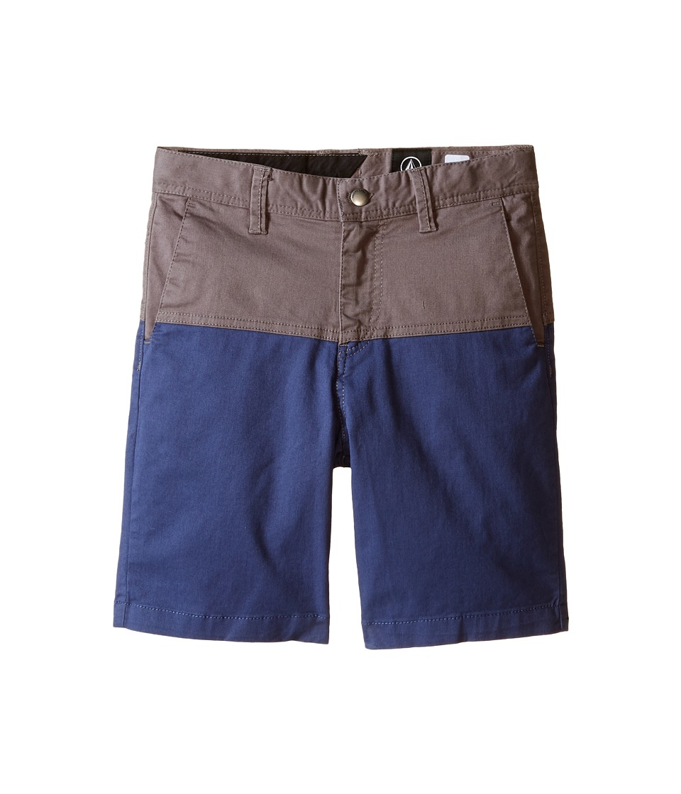 Volcom Kids Baden Shorts Toddler/Little Kids Pewter Boys Shorts