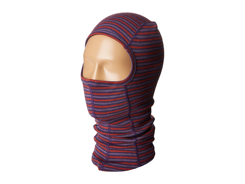 Smartwool NTS Mid 250 Pattern Balaclava (Mountain Purple) Cold Weather Hats