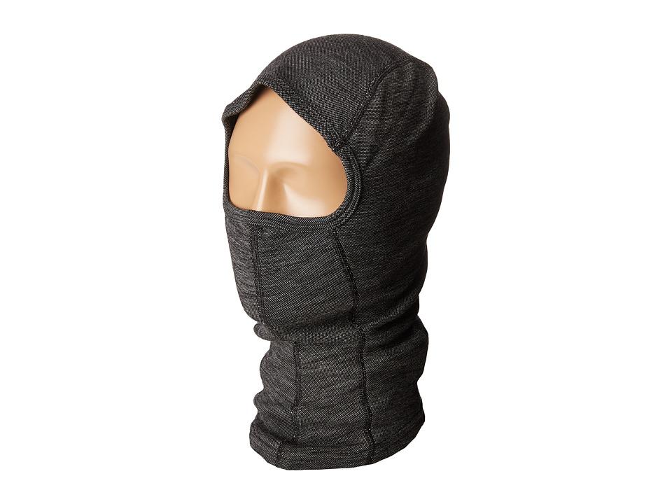 Smartwool NTS Mid 250 Pattern Balaclava (Black) Cold Weather Hats