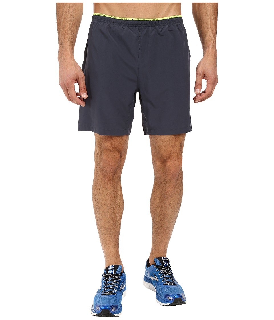 Brooks Sherpa 7 2-in-1 Shorts (Asphalt/Nightlife) Men