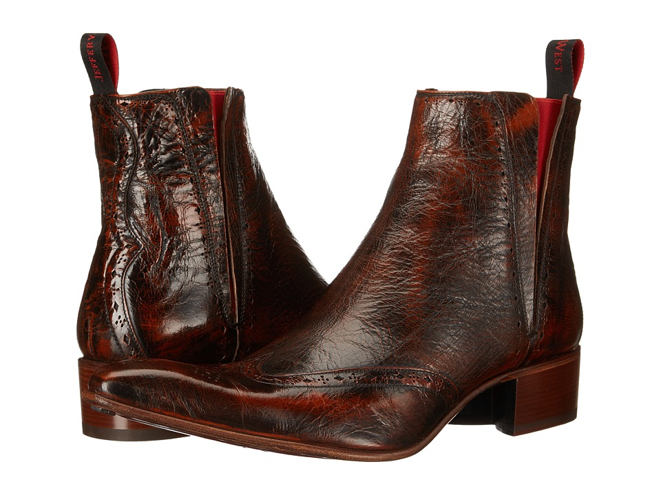 Jeffery West Rochester Mid Brown Botticelli Mens Shoes