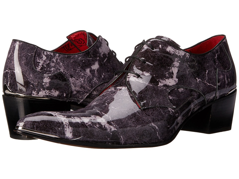 Jeffery West Plain Gibson Grey/Marble Mens Shoes