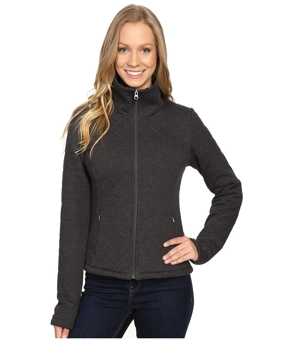 The North Face - Caroluna Crop Jacket (TNF Dark Grey Heather (Prior Season)) Womens Coat