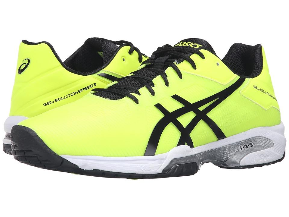 ASICS - Gel-Solution Speed 3 (Safety Yellow/Black/White) Men