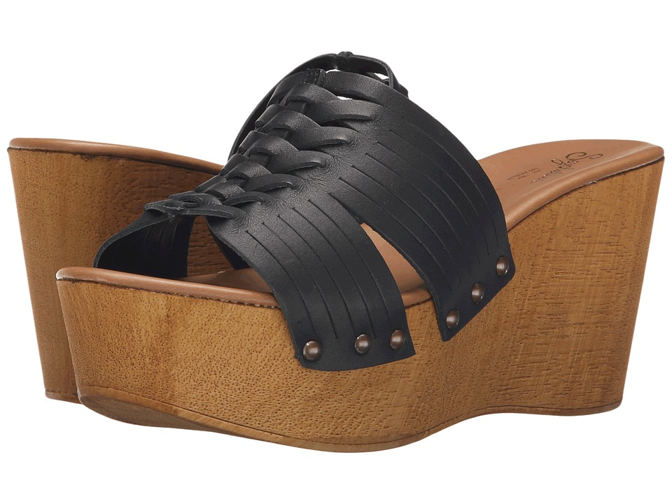 Seychelles Awe Black Womens Wedge Shoes