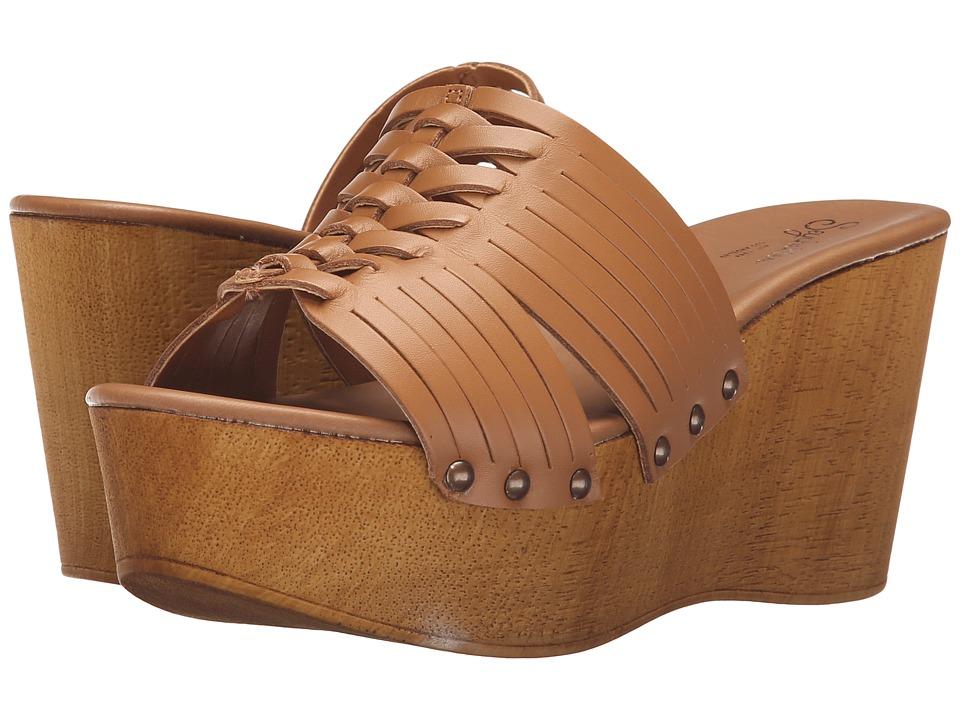 Seychelles Awe Tan Womens Wedge Shoes
